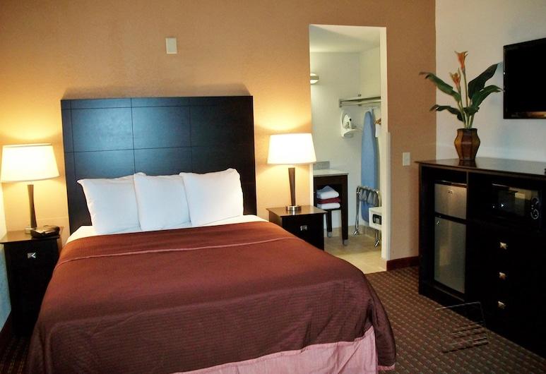 底特律機場羅穆魯斯美洲最佳價值酒店, 羅慕勒斯, 客房, 1 張加大雙人床, 非吸煙房, 客房