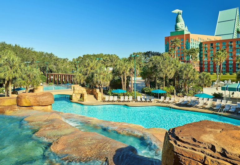 Walt Disney World Swan, Lago Buena Vista, Piscina