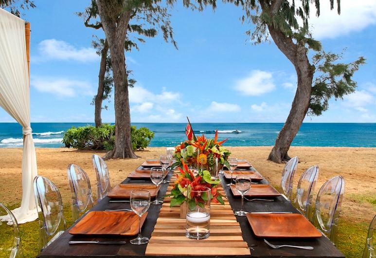 Kauai Shores Hotel, Kapaa, Útiveitingasvæði