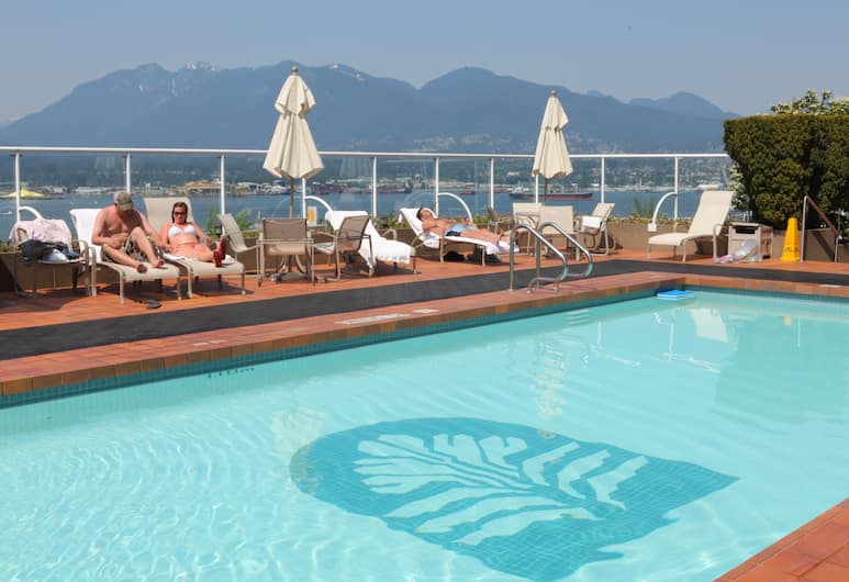 Pan Pacific Vancouver, Vancouver, Takterrasspool