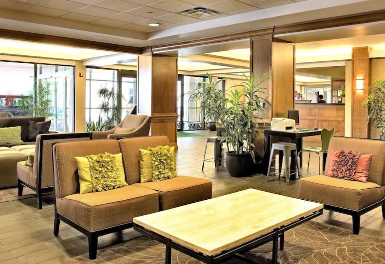 Holiday Inn Country Club Plaza, Канзас-Сити, Гостиная в вестибюле