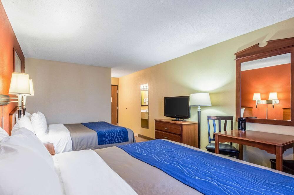 Standardværelse - 2 queensize-senge - Værelse