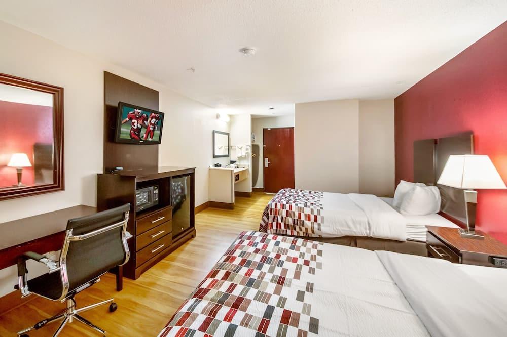 Izba typu Superior, 2 dvojlôžka, bezbariérová izba, nefajčiarska izba - Hosťovská izba