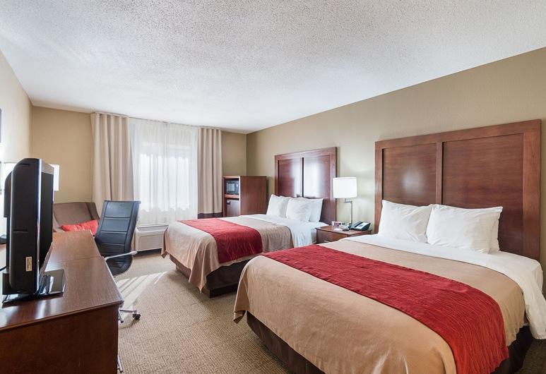 Comfort Inn Barboursville near Huntington Mall area, Barboursville, Standard Room, 2 Queen Beds, Non Smoking, Guest Room