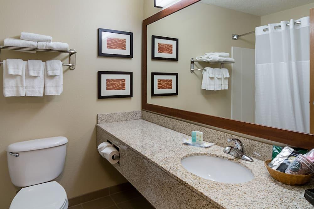 Habitación estándar, 1 cama de matrimonio grande, no fumadores - Cuarto de baño