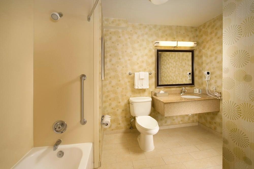 Стандартний двомісний номер, 2 двоспальних ліжка, для некурців - Ванна кімната