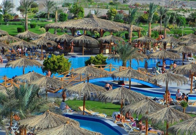 Long Beach Resort, Hurghada, Blick vom Hotel