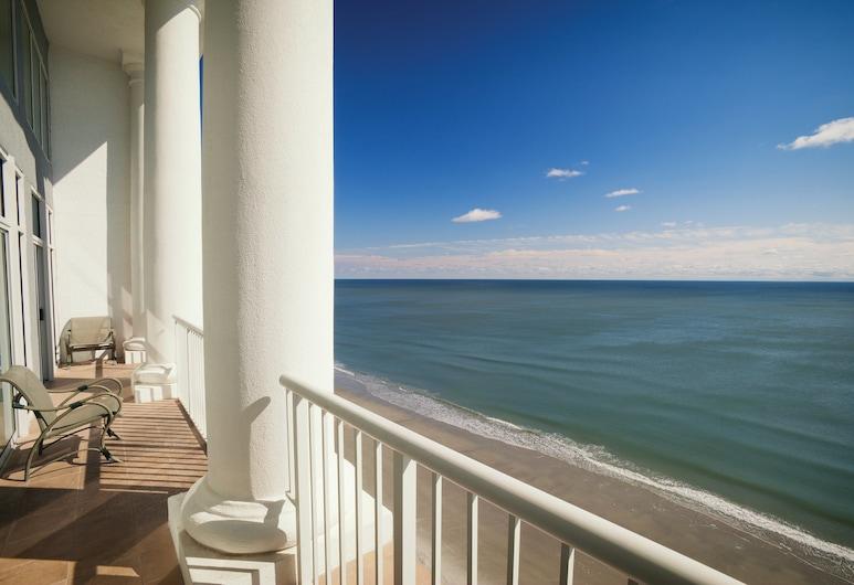 Club Wyndham SeaWatch Resort, Myrtle Beach, Standard-Apartment, 3Schlafzimmer, Nichtraucher, Küche, Zimmer