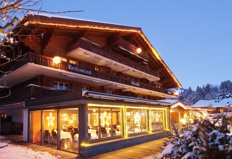 Arc-en-Ciel Gstaad, Saanen, Fasada hotelu