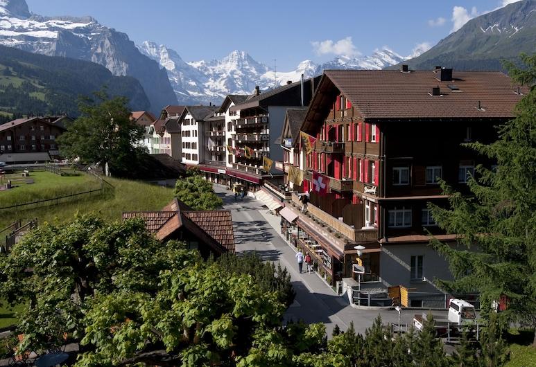 Swiss Lodge Hotel Bernerhof Wengen, Wengen, Hotelfassade