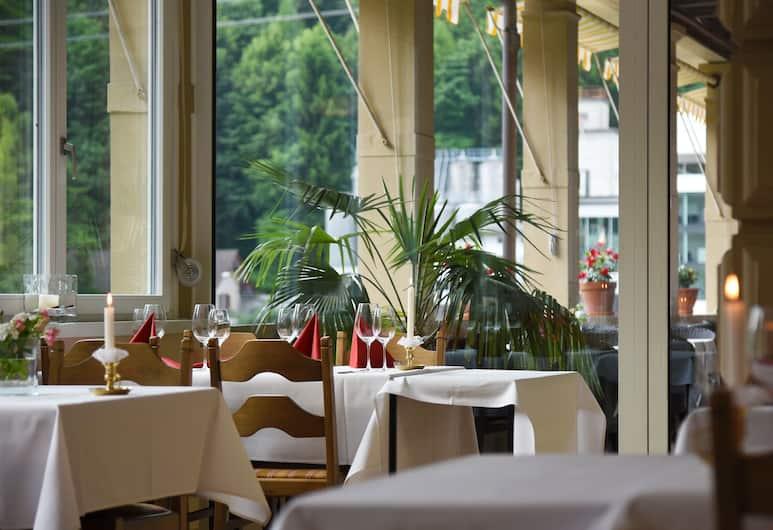 Budget-Waldhotel Unspunnen, Matten bei Interlaken, Restaurant