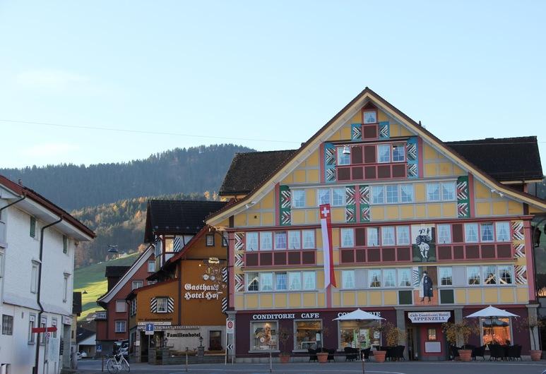 Hotel Appenzell, Appenzell, Hotellfasad