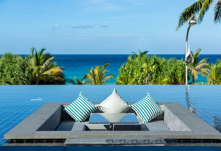 Thavorn Palm Beach Resort Phuket, Karon, Seaview Deluxe with Sunken Lounge Infinity Terrace - Adult Only, Vue sur la plage/la mer