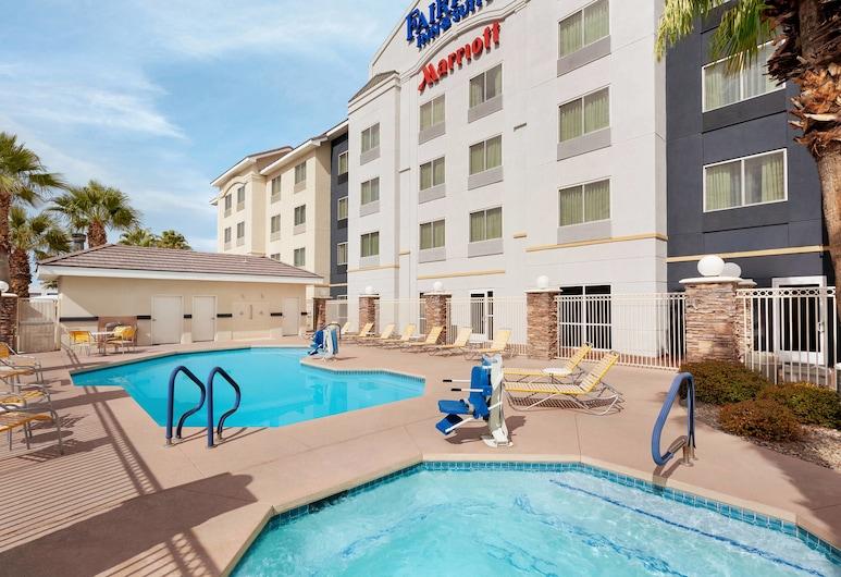 Fairfield Inn and Suites by Marriott Las Vegas South, Las Vegas, Bazén