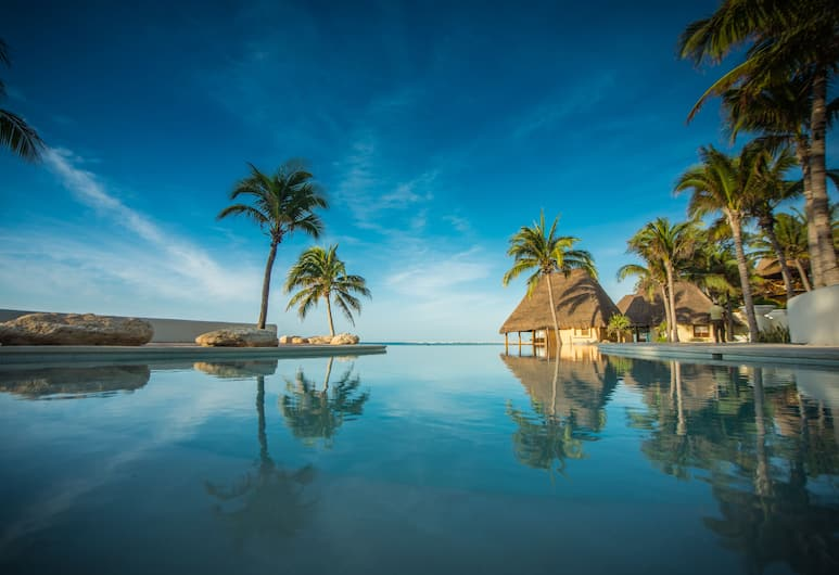 Mahekal Beach Front Resort & Spa, Плайа-дель-Кармен, Вид снаружи / фасад