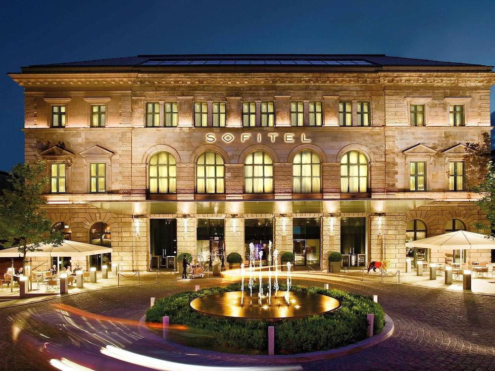 Sofitel Munich Bayerpost, München, Hotellets front