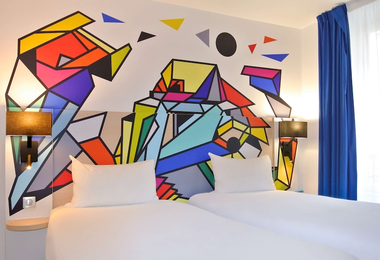 ibis Styles Paris Maine Montparnasse, Pariz, Standardna soba, 2 kreveta za jednu osobu, Soba za goste
