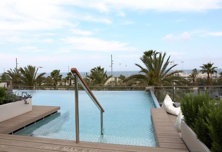 옥시덴탈 아테네아 마르 - 어른 전용, 바르셀로나, 수영장