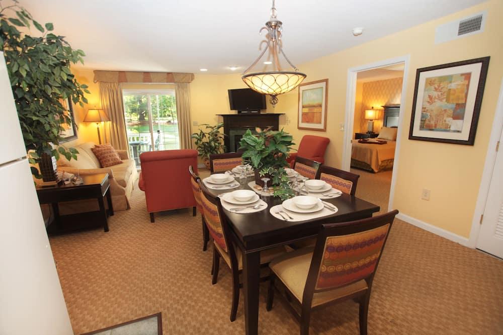 Deluxe Apart Daire, 1 Yatak Odası, Mutfak - Odada Yemek Servisi