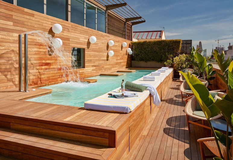 Sir Victor Hotel, Barcelona, Rooftop Pool