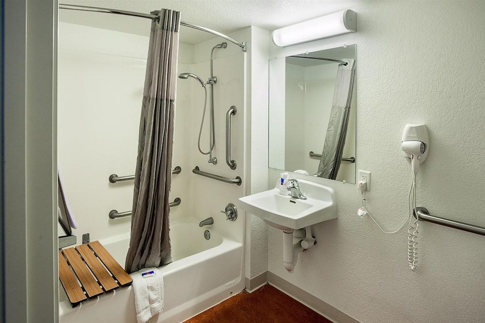 스탠다드룸, 더블침대 2개, 장애인 지원, 금연 - 욕실