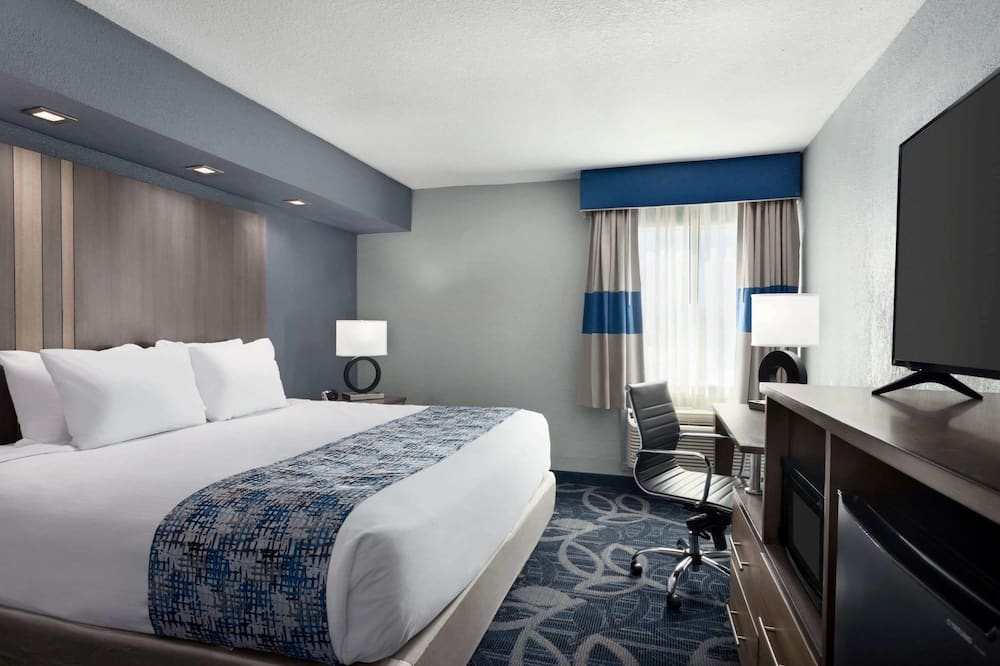 客房, 1 張特大雙人床, 非吸煙房 (Efficiency) - 客房