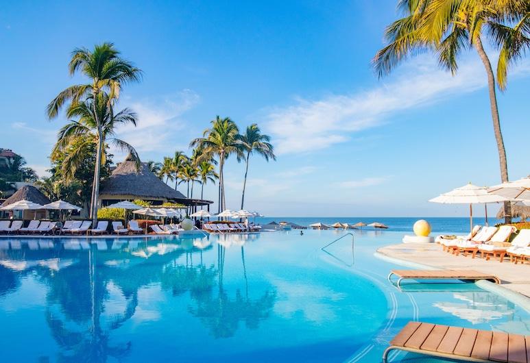 Grand Velas Riviera Nayarit - All Inclusive, Nuevo Vallarta, Piscina con borde infinito
