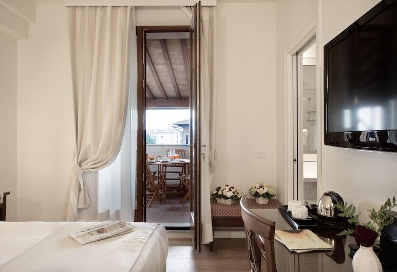 義大利飯店, 錫耶納, 行政雙人房單人入住, 客房