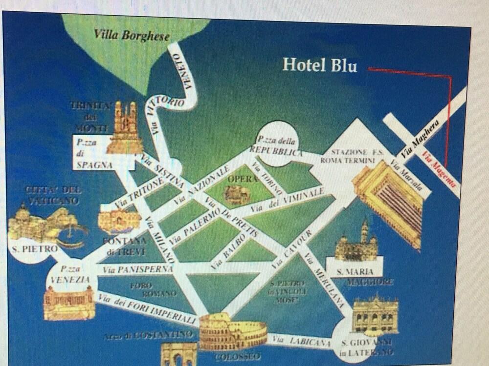 Book Hotel Soggiorno Blu in Rome | Hotels.com