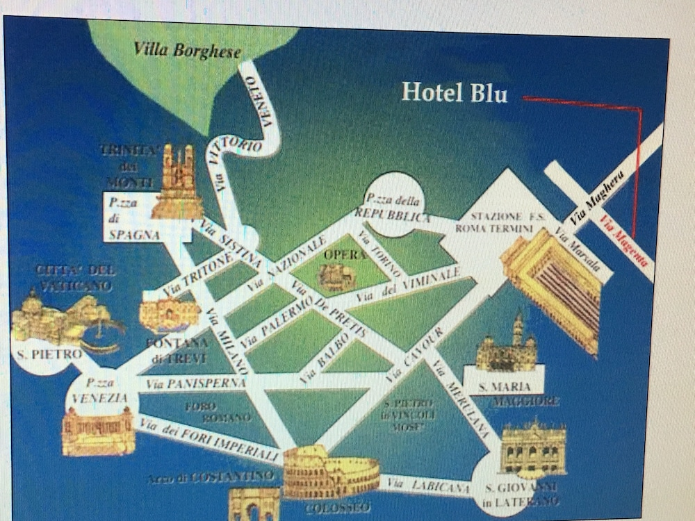 Hotel Soggiorno Blu, Rome: Info, Photos, Reviews | Book at Hotels.com