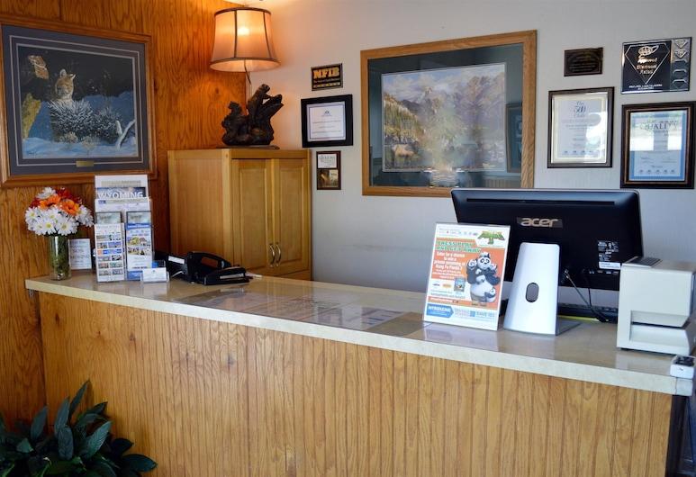 Americas Best Value Inn Sheridan, Sheridan, Recepcia