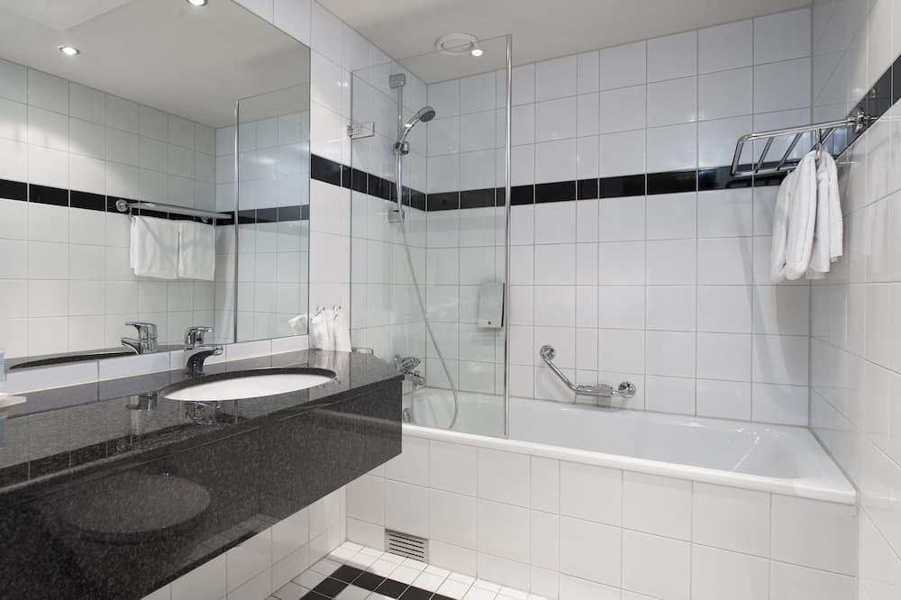 Superior-værelse - 1 dobbeltseng - ikke-ryger - Badeværelse
