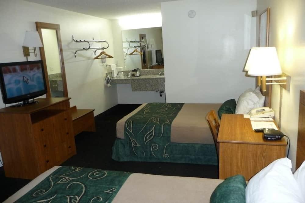 Standard Oda, 2 Çift Kişilik Yatak, Sigara İçilmez - Banyo Lavabosu