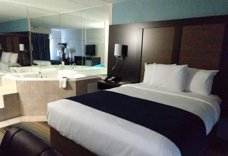SureStay Hotel by Best Western Florence, Florence, Standard Room, 1 King Bed, Accessible, Bathtub (NonSmoking), Guest Room