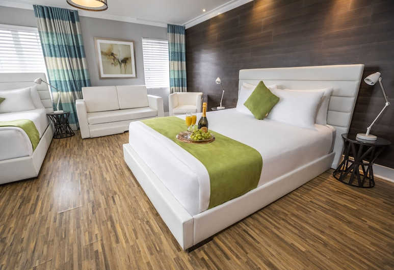 Chesterfield Hotel & Suites, a South Beach Group Hotel, Miami Beach, Deluxe-Studiosuite (400 sq ft), Zimmer