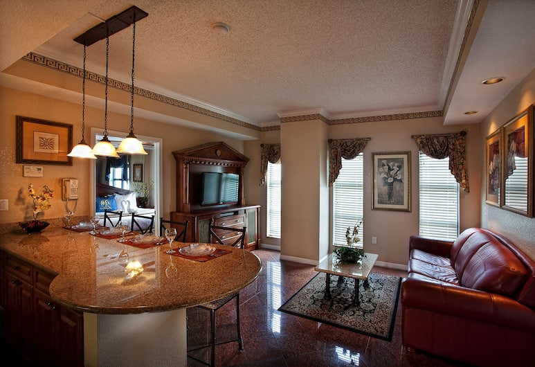 Westgate Palace a Two Bedroom Condo Resort, Orlando, Apartman, 2 spavaće sobe, Dnevni boravak