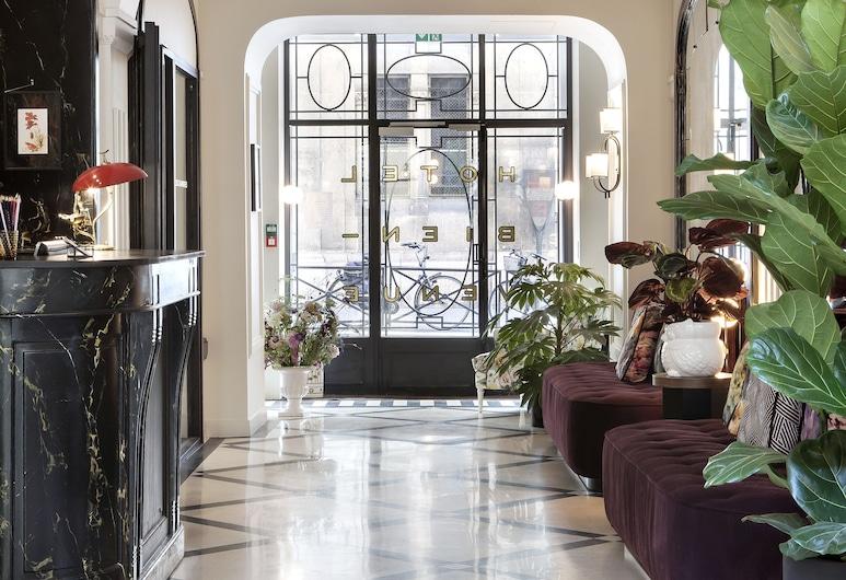 Hotel Bienvenue, Paris, Resepsjon