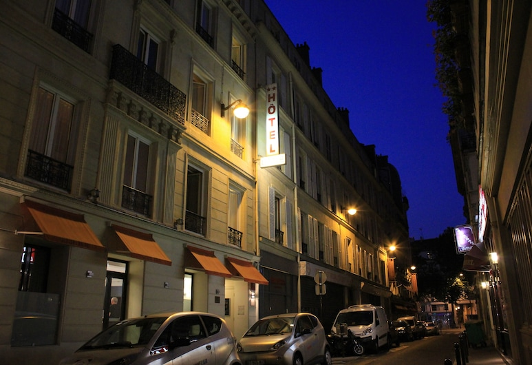 Hotel Little, Paris, Hotel Front – Evening/Night