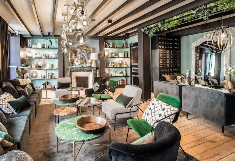 Maisons du Monde Hôtel & Suites, Nantes, Salon de la réception