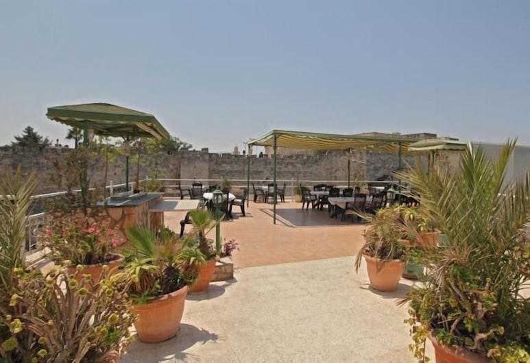 The Golden Walls Hotel, Jerusalem, Terrasse/Patio