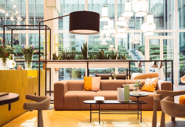Hotel Casa Amsterdam, Amsterdam, Sitzecke in der Lobby