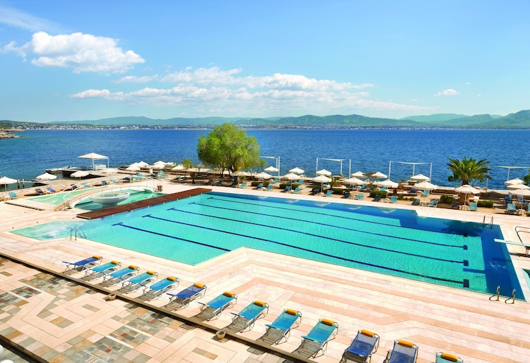 Wyndham Loutraki Poseidon Resort, Λουτράκι-Άγιοι Θεόδωροι, Εξωτερική πισίνα
