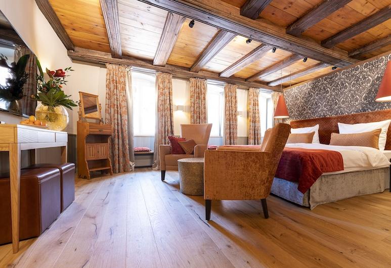 Romantik Hotel Markusturm, Rothenburg ob der Tauber, Chambre Familiale (Deluxe), Chambre