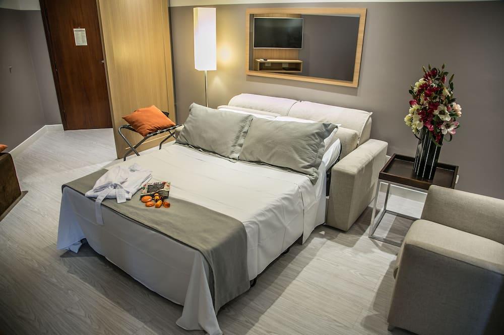 דירה (2 camas de solteiro com sofá-cama) - מיטות נוספות