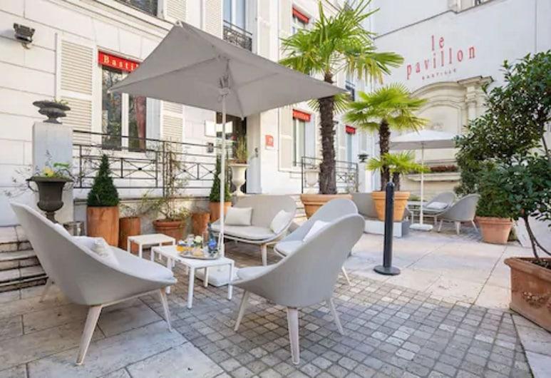 Hotel Pavillon Bastille, Paris, Rum, Terrass