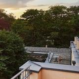 Deluxe-Doppelzimmer - Blick vom Balkon
