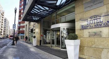 Selline näeb välja Hotel Silken Reino de Aragón, Zaragoza