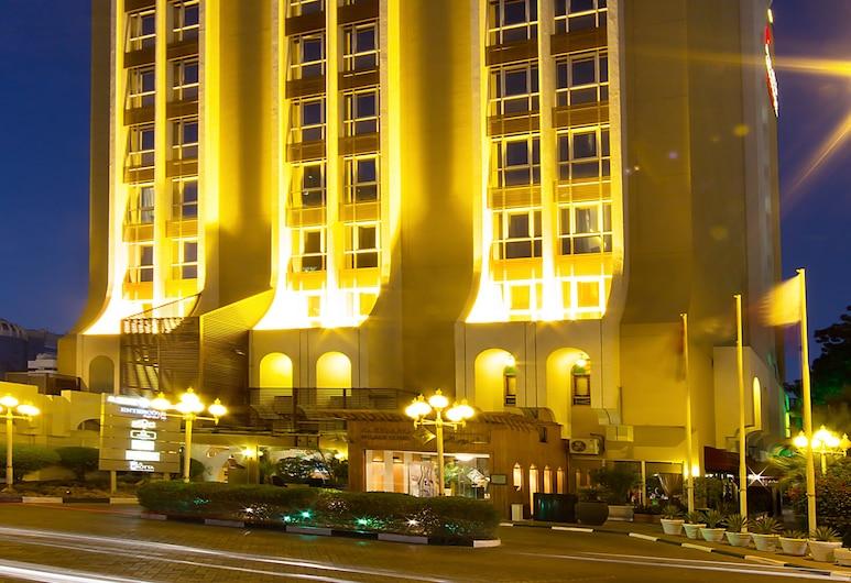 Al Khaleej Plaza Hotel, Dubai, Hotel Front