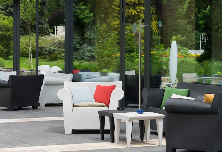 At the Park Hotel, Baden, Terrace/Patio