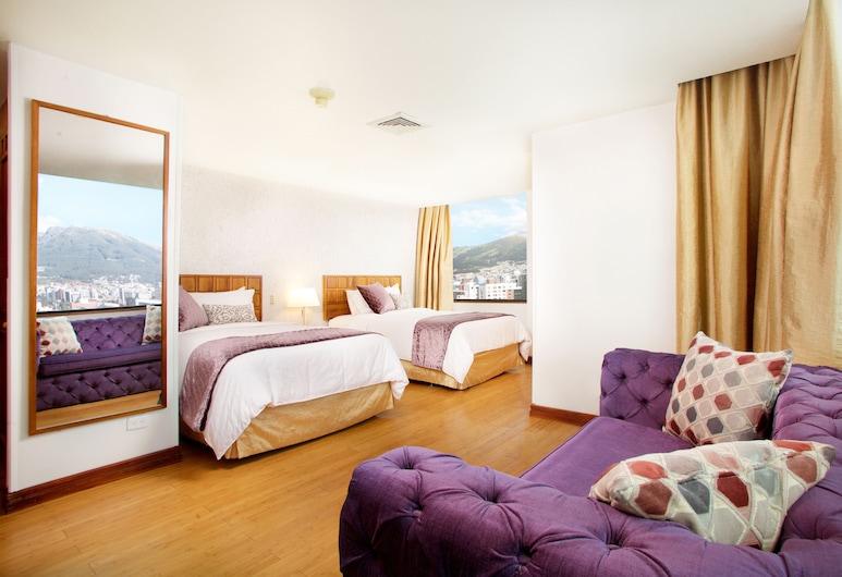 Rio Amazonas Hotel, Quito, Trojlôžková izba, Hosťovská izba